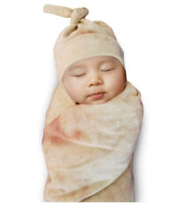 Burrito Wrap Novelty Blanket