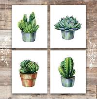 Cactus Decor Art Prints