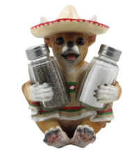 Chihuahua Glass Salt and Pepper Shaker