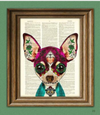 Mexican Dog Day of the Dead
