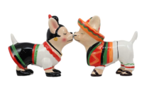 Chihuahua Dog Salt And Pepper Shakers