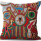 Mexican Huichol Decorative Pillow Cases