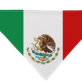 Mexican Flag Dog Bandana