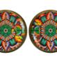 Mexican Folk Art Stud Earrings
