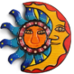 Sun and Moon Mexican Wall Decor