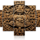 Aztec Calendar Wall Decor